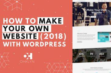 Cara Membuat Situs Web Anda Sendiri (2018)